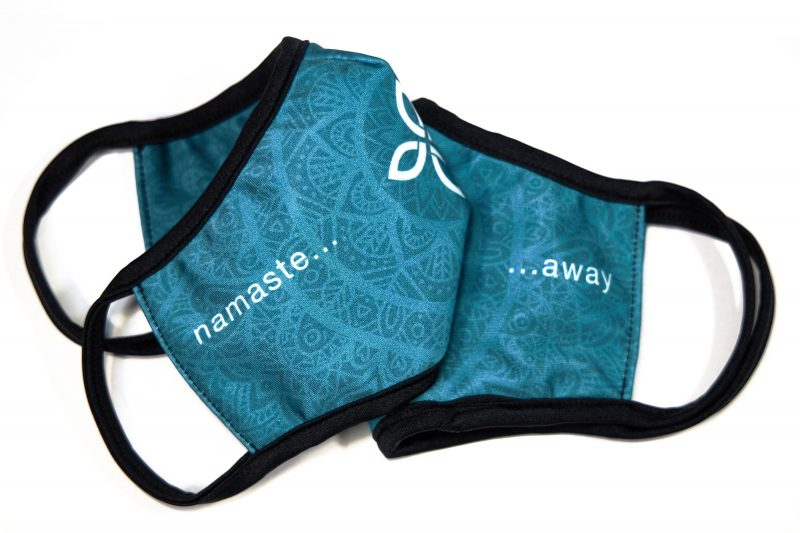 Sida Yoga Yogi Face Masks Protection Covering Facemasks Product Namaste Away Exclusive Buy Online Spun Fabric COVID 19 Coronavirus Government Guidelines Soft Washable Reusable