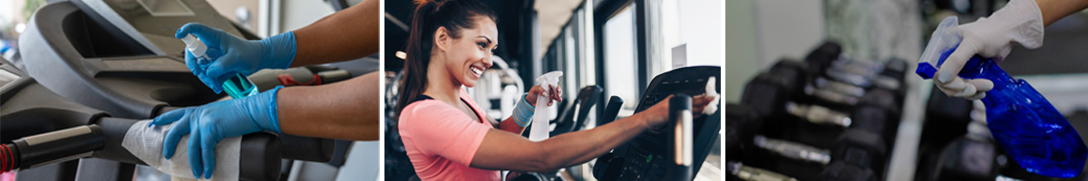 gym cleaning during coronavirus pandemic