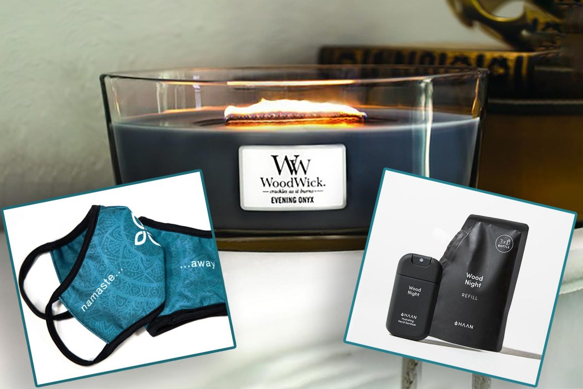 prize care wellness package face mask haan hand sanitizer woodwick candle sida give india help donate raffle tickets draw covid charity oxygen dorset