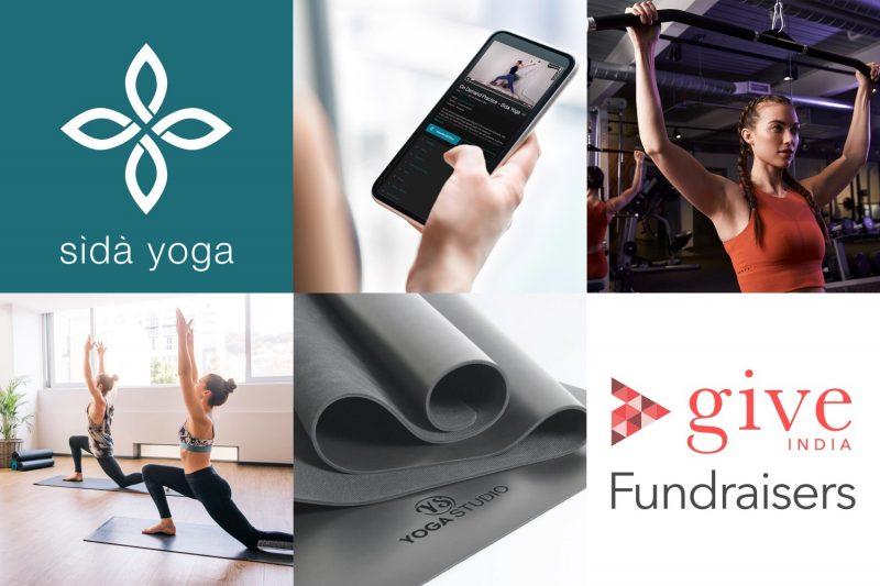sida yoga charity raffle give india covid support prizes donation charity fundraising oxygen coronavirus product feature hero image