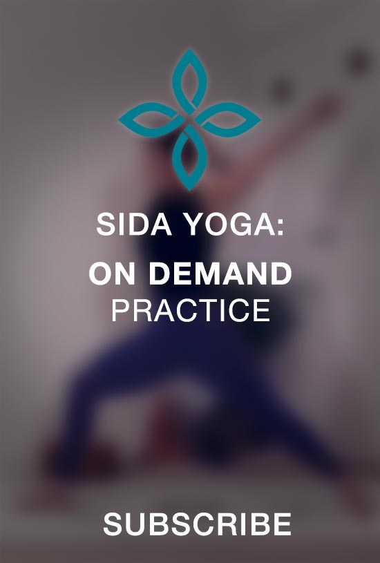 sida yoga on demand practice subscription classes sessions learn anytime video